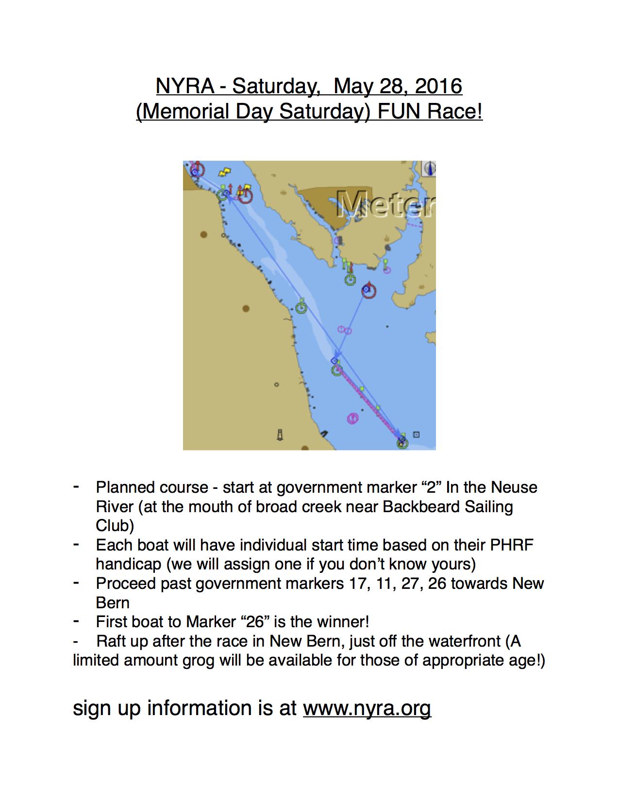 2016 NYRA Memorial Day fun race